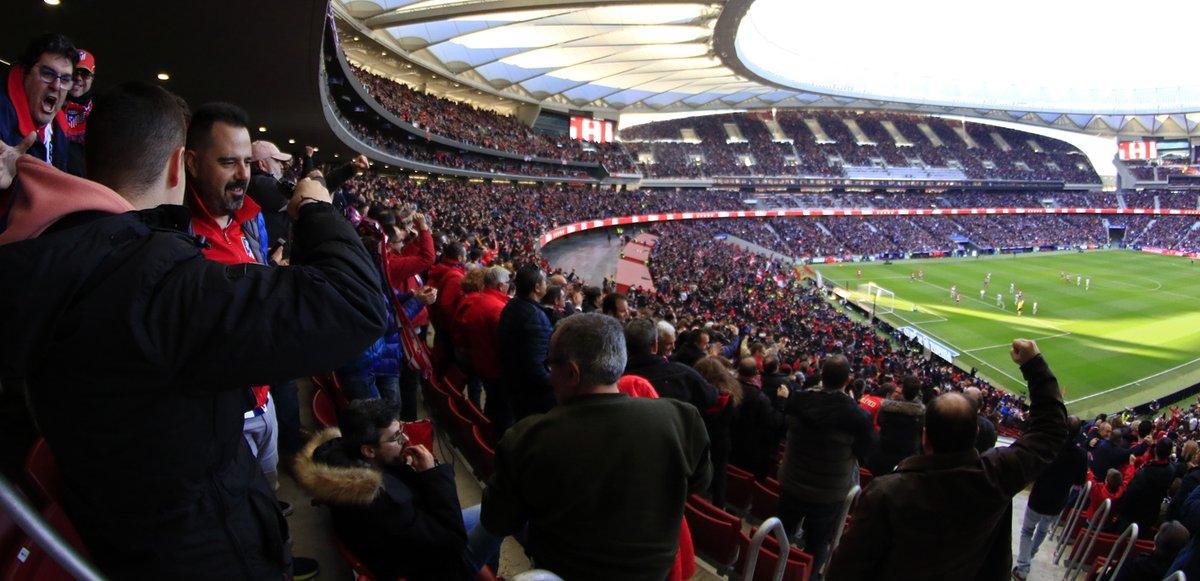 El Wanda Metropolitano será el escenario del derbi madrileño. (Foto Prensa Libre: Atlético de Madrid)