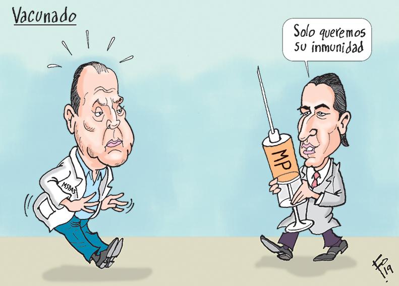 Personajes: Carlos Soto y Stuardo Campo.