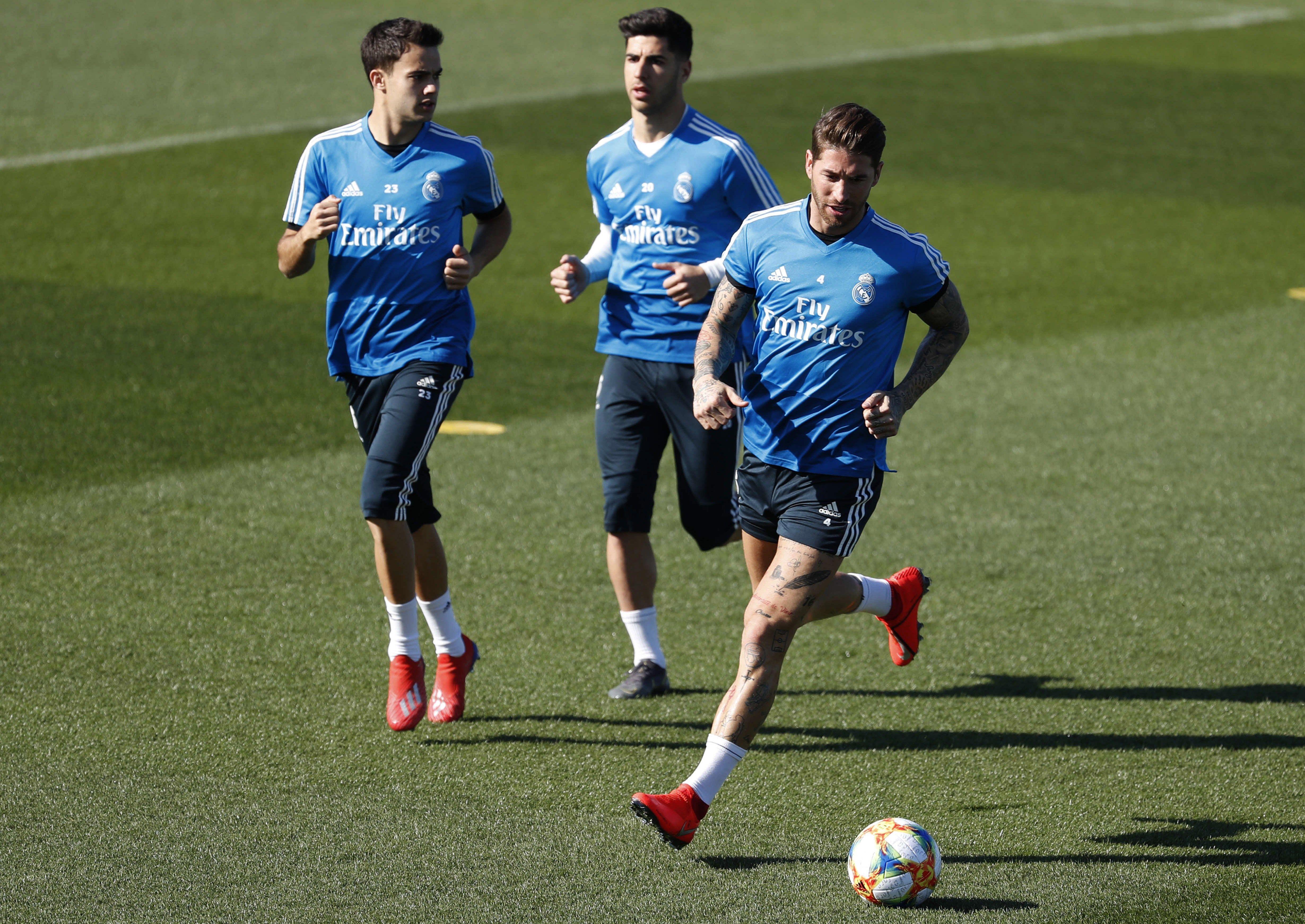 Sergio Ramos, capitán del Real Madrid. (Foto Prensa Libre: EFE)