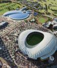 El Khalifa International Stadium de Doha, construido para el mundial de Qatar 2022, se convertirá en el primer estadio refrigerado al aire libre del mundo, en el que la temperatura ambiental se reducirá hasta los 26 grados centígrados. (Foto, Prensa Libre: Hemeroteca PL).