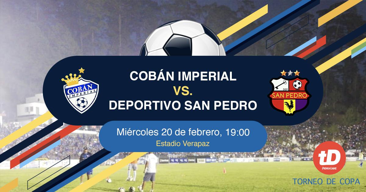 EN DIRECTO   Cobán Imperial vs San Pedro