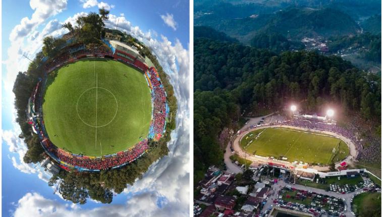 El estadio Manuel Felipe Carrera y el Verapaz han lucido sus mejores galas en el Clausura 2019. (Foto Prensa Libre: Club Municipal y redes)
