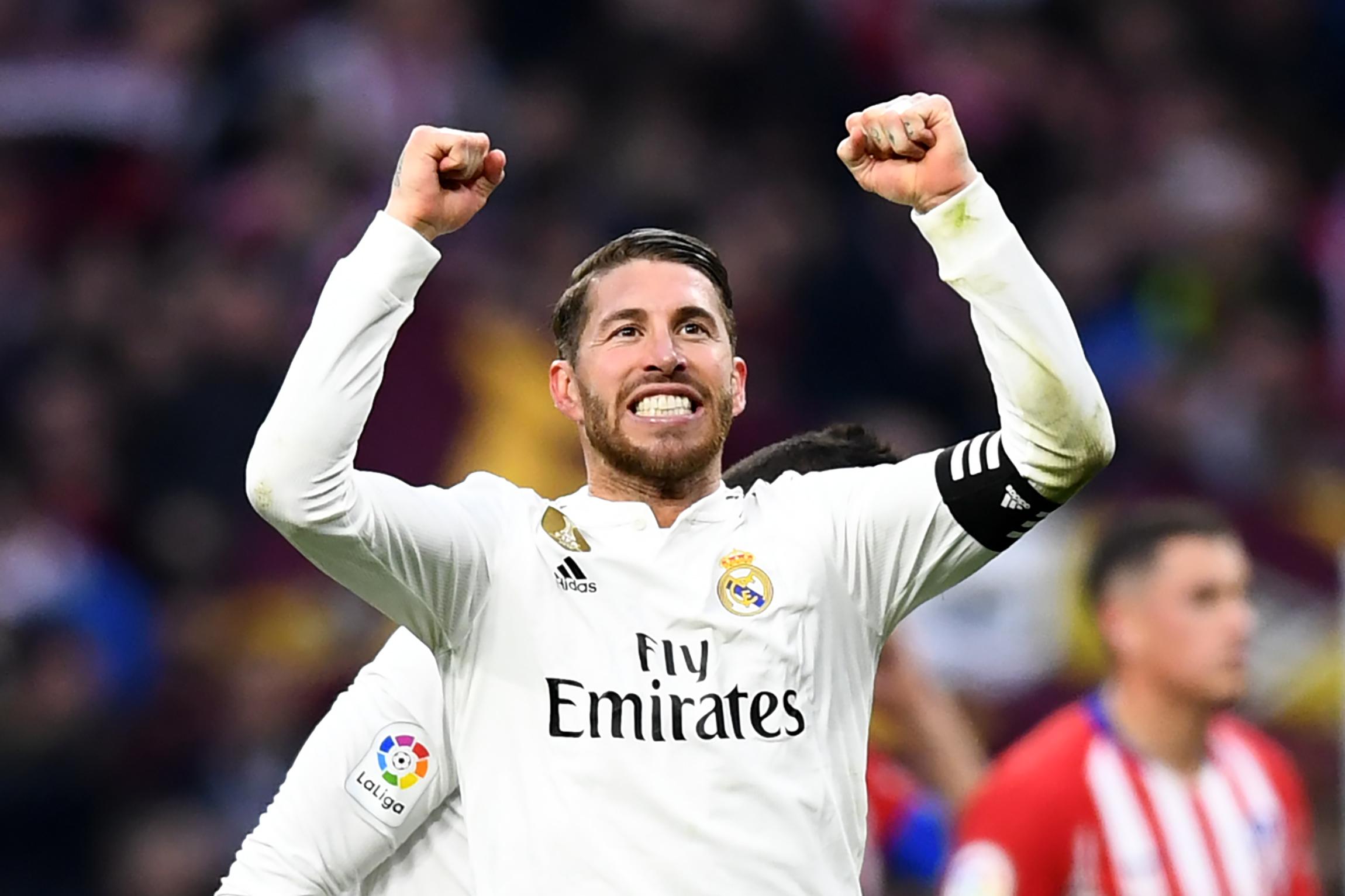 Sergio Ramos jugará su partido 600 con el Real Madrid en el duelo contra el Ajax. (Foto Prensa Libre: AFP).