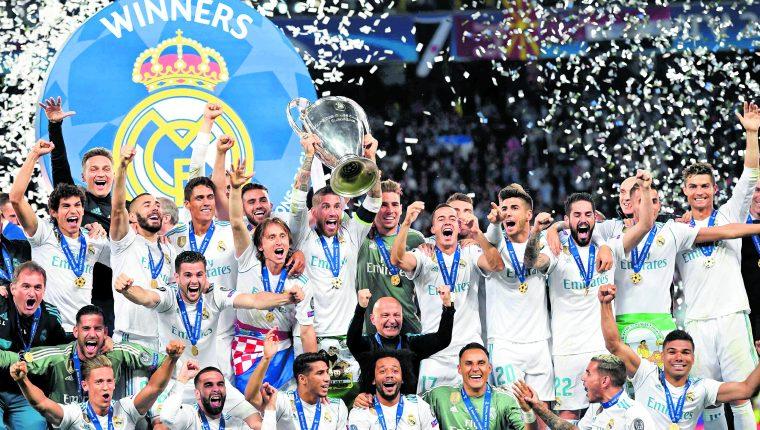 El Real Madrid es el actual campeón de la Champions League. (Foto Prensa Libre: Hemeroteca PL)