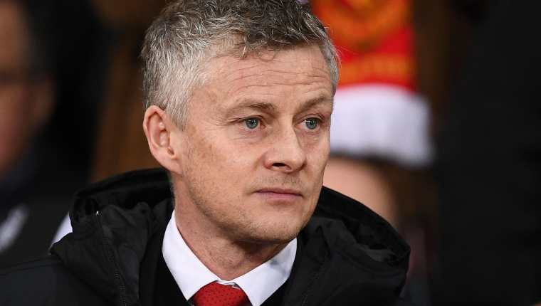 El entrenador del Manchester United, Gunnar Solskjaer. (Foto Prensa Libre: AFP)