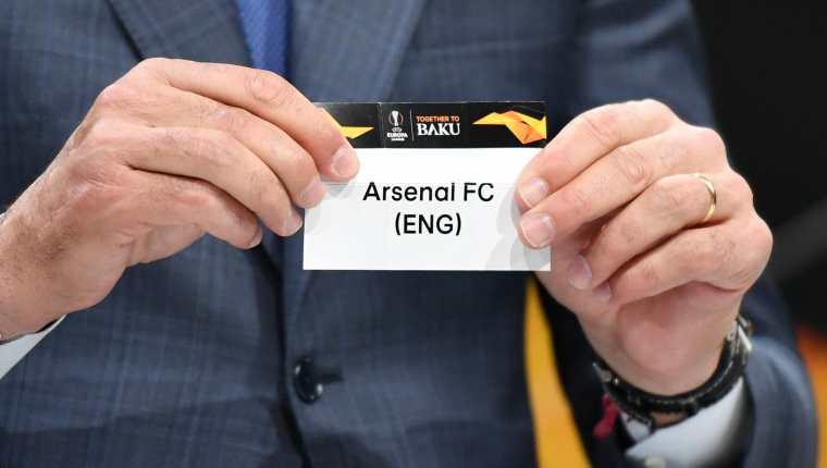 Este viernes se realizó el sorteo de octavos de final de la Europa League. (Foto Prensa Libre: AFP)