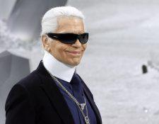 Karl Laerfeld es reconocido como uno de los diseñadores de moda más influyentes de la historia. (Foto Prensa Libre: AFP)