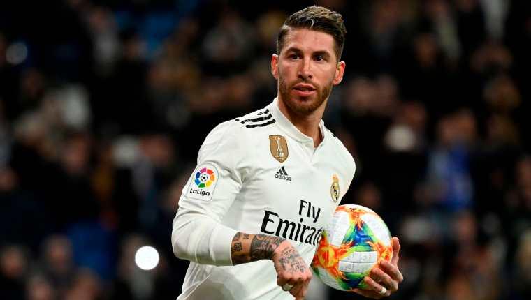 Sergio Ramos, capitán del Real Madrid. (Foto Prensa Libre: AFP)