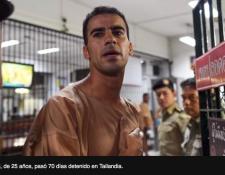 Al Araibi, de 25 años, pasó 70 días detenido en Tailandia. AFP