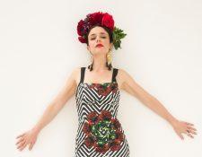 La actriz Flora Martínez encarna a Frida Kahlo, destacada artista plástica mexicana. (Foto Prensa Libre: Cortesía)