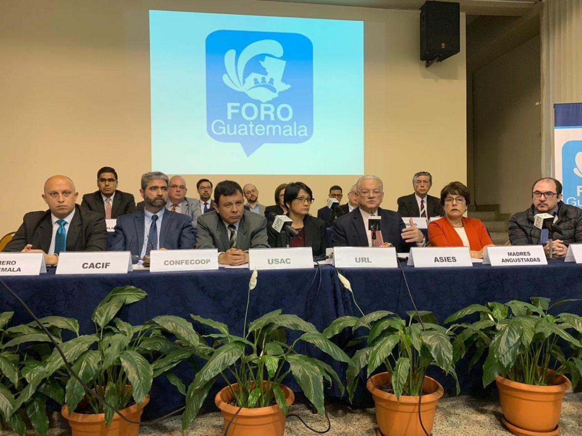 Las reformas al Estado que propone el Foro Guatemala más allá de la coyuntura