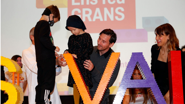 La labor de la Fundación Leo Messi es de  beneficio para muchos niños. (Foto Prensa Libre: Tomada de Fundación Leo Messi)