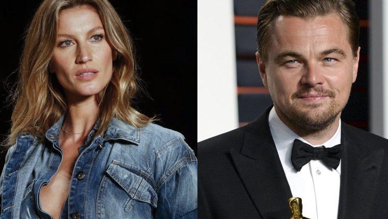 Leonardo DiCaprio y Gisele Bündchen sostuvieron una relación amorosa durante cinco años. (Foto Prensa Libre: HemerotecaPL)
