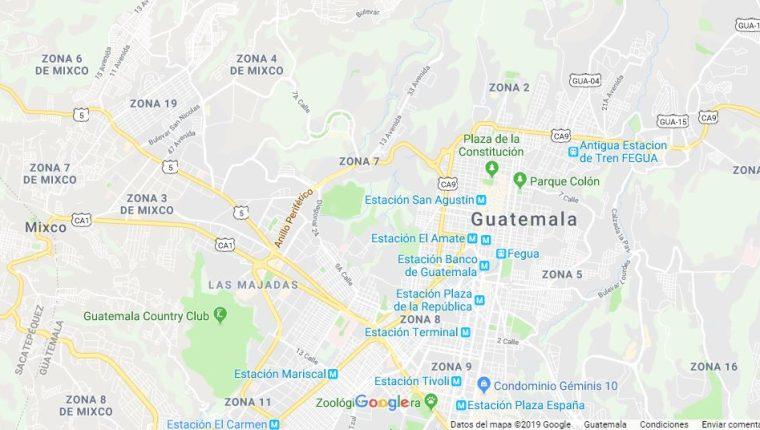 El gigante de Internet tiene planes de mejorar la experiencia de los usuarios de Google Maps.   (Foto Prensa Libre: Google Maps)