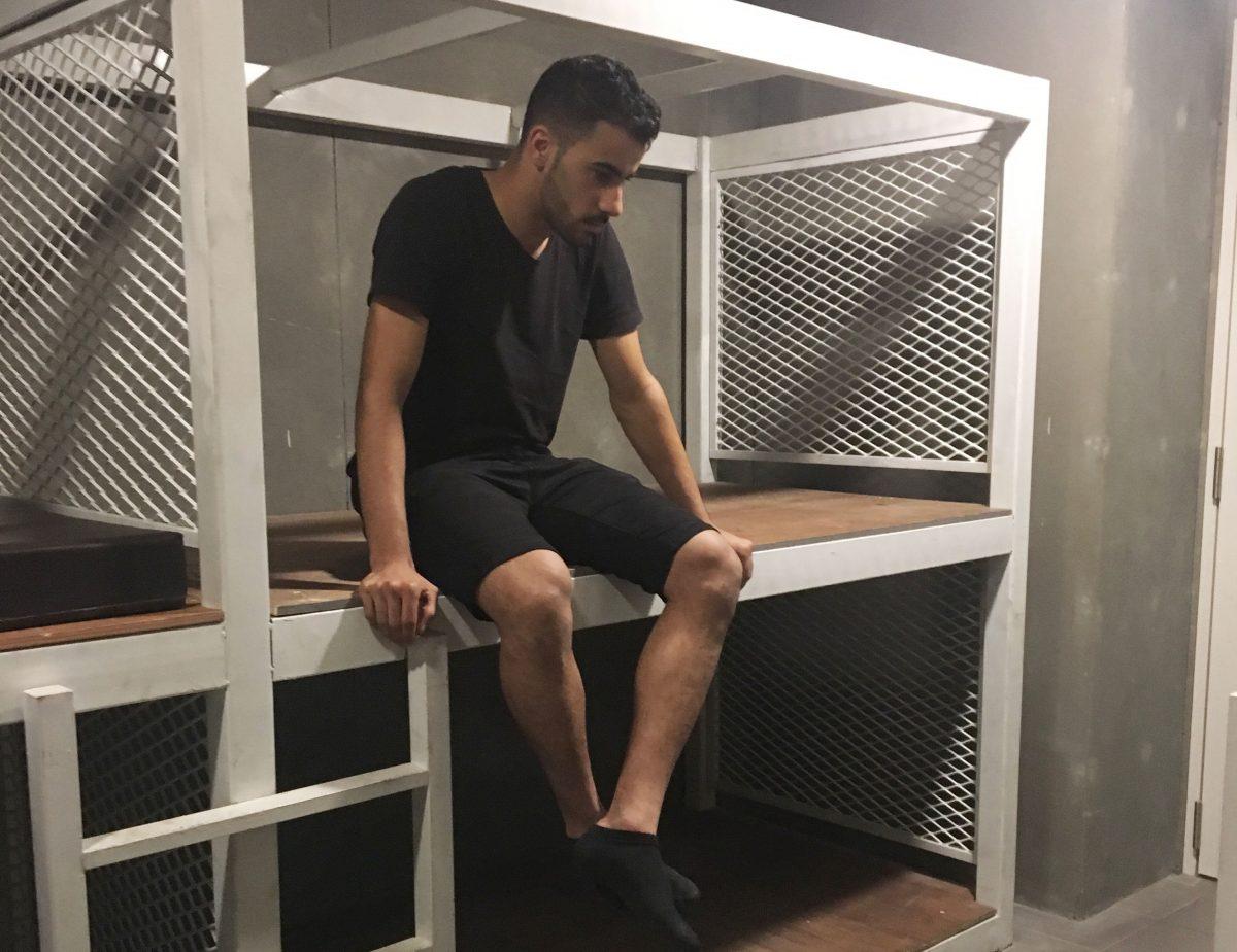 El futbolista bareiní ha sido solicitado por las autoridades de su país. (Foto Prensa Libre: Cortesía Human Rights Watch)