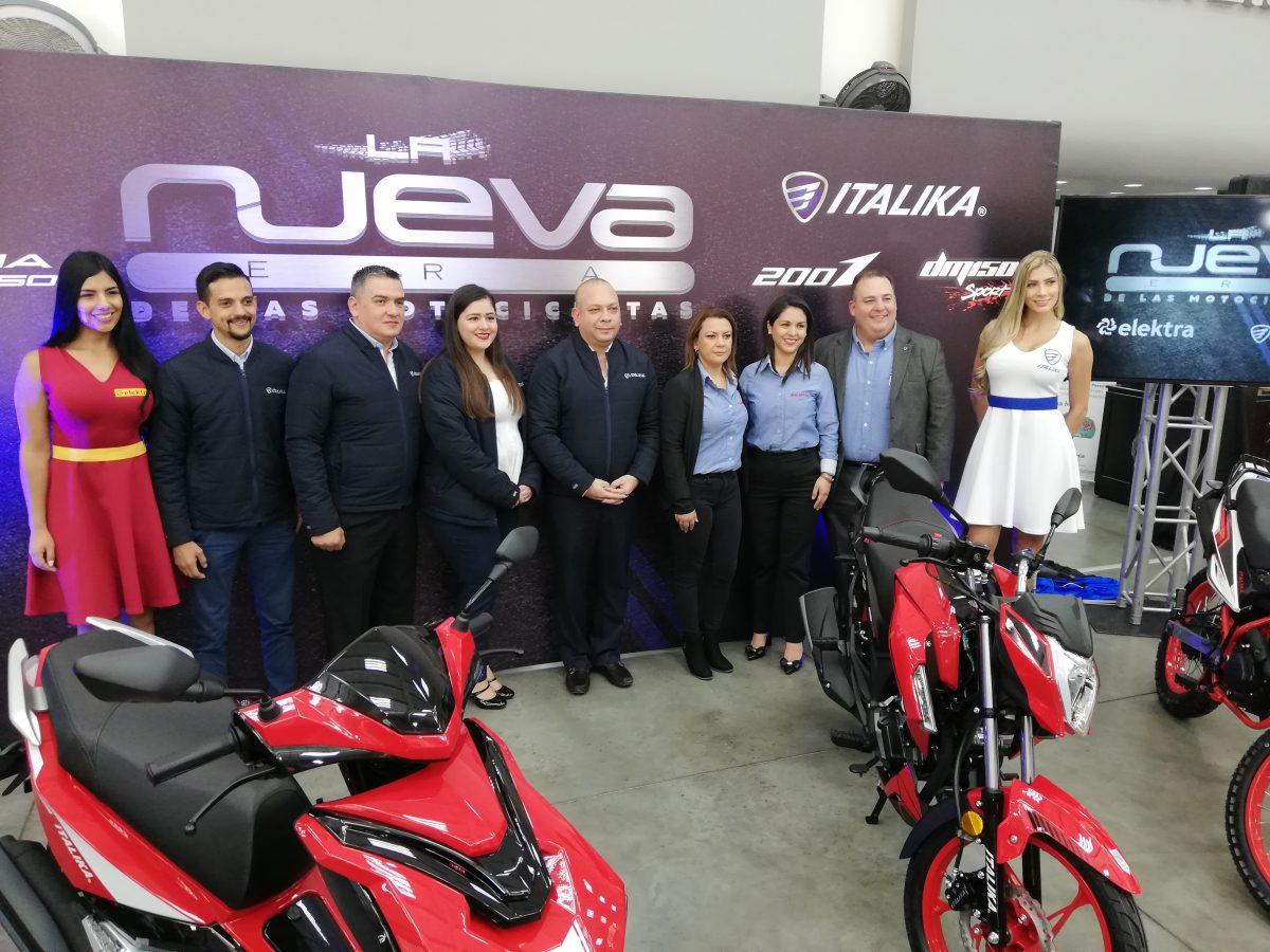 Italika y Elektra presentaron la nueva era de las motocicletas
