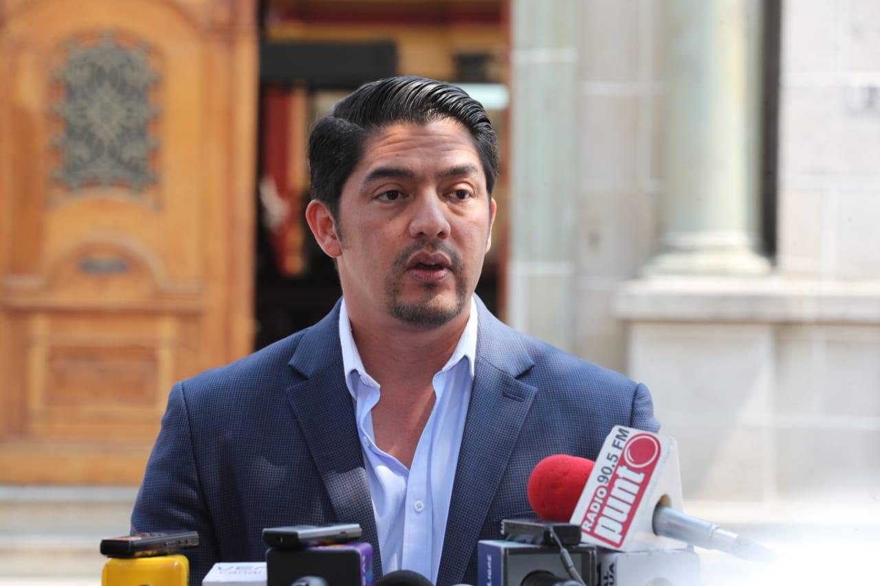 Juan Carlos Eggenberger brinda versiones dudosas del proceso penal que enfrenta por agredir a su exesposa. (Prensa Libre: Erick Ávila)
