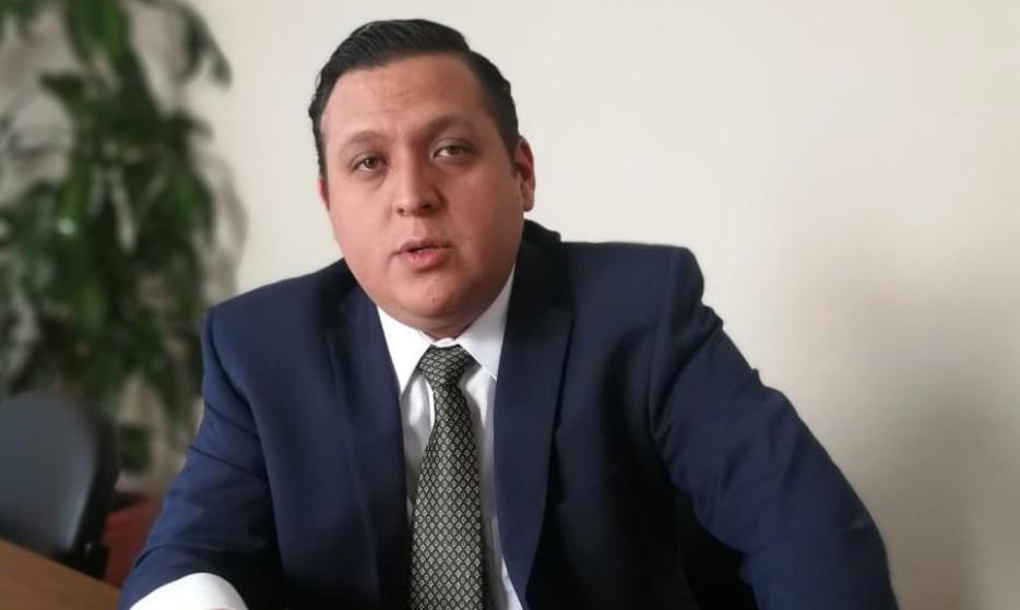 José González,  coordinador del Programa de Justicia de Impunity Watch.  (Foto Prensa LIbre: Francisco Martínez)