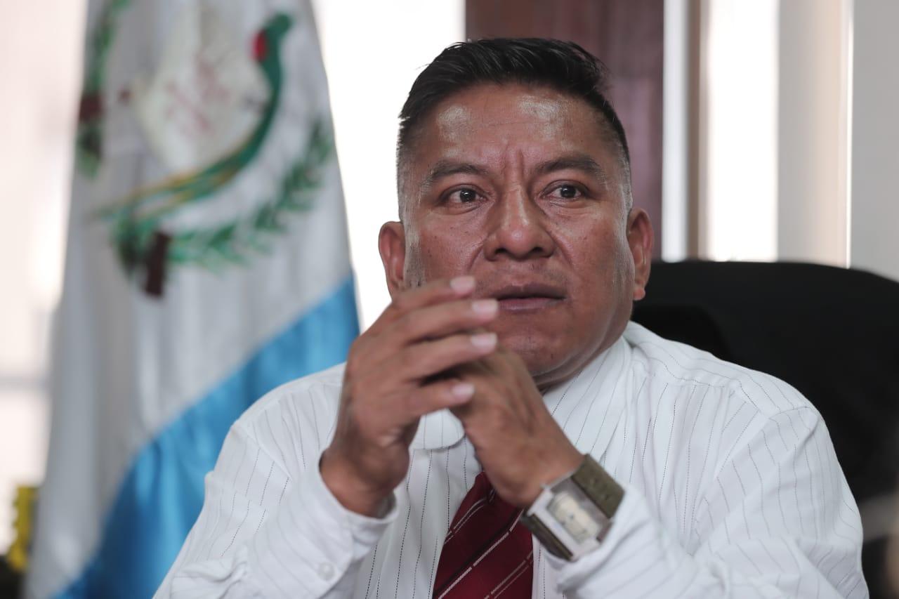El juez Pablo Xitumul de Paz denunció al jefe de la Fiscalía de Delitos Administrativos y tres auxiliares. (Foto Prensa Libre: Hemeroteca PL)