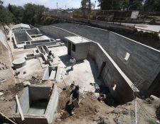 La planta de tratamiento para aguas residuales de La Esperanza, Quetzaltenango, tuvo una inversión de Q3 millones. (Foto Prensa Libre: Mynor Toc)