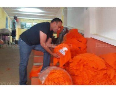 La cooperativa Torre Fuerte suministró material de campaña a varios partidos políticos. La entidad operaba en el centro carcelario Pavón, Fraijanes. (Foto Prensa Libre: Hemeroteca)