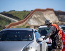 Las amenazas de los carteles responden a los fuertes contingentes desplegados en Tijuana, dicen las autoridades. (Foto Prensa Libre: EFE)