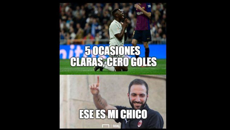 Vinicius fue el principal protagonista en los memes. (Foto Prensa Libre: Twitter)