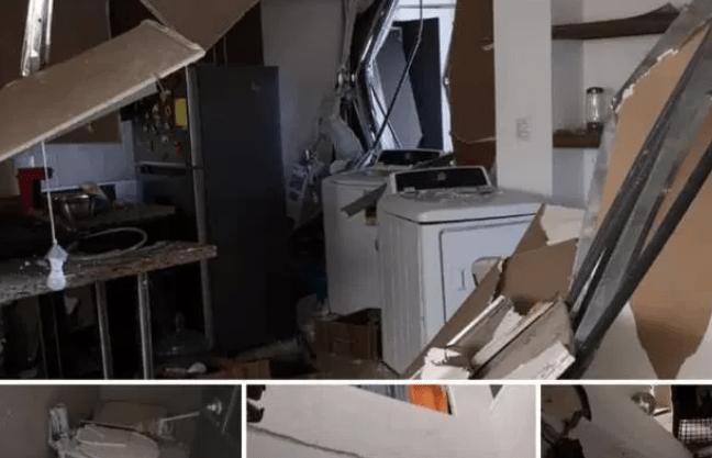 La explosión en un apartamento del Condominio Santa María Las Charcas dejó dos personas heridas. (Foto, Prensa Libre: Hemeroteca PL).