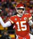 Patrick Mahomes de Kansas City Chiefs fue nombrado el Mejor Jugador de la NFL. (Foto Prensa Libre: AFP)