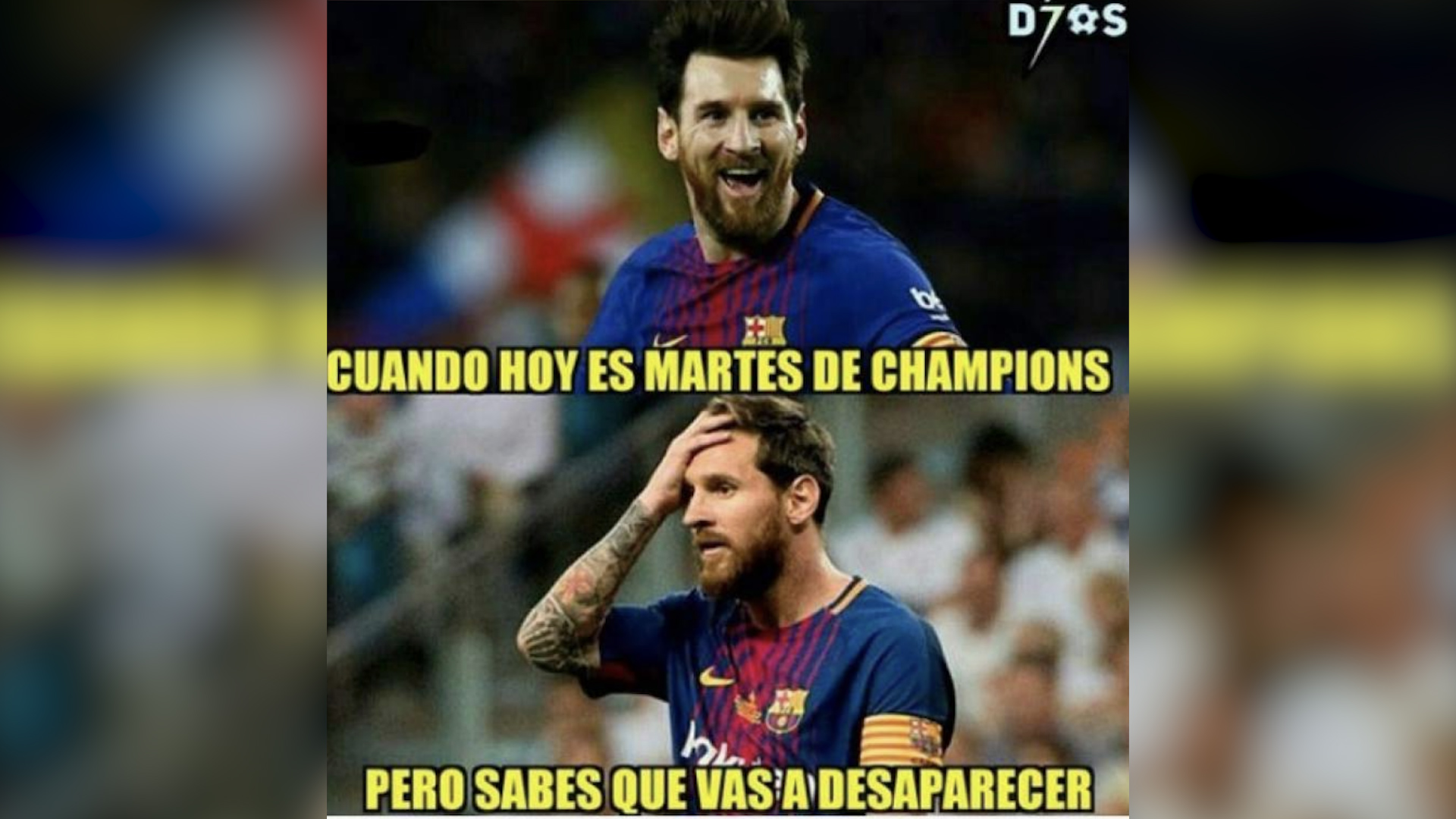 Lionel Messi fue uno de los más criticados a pesar de ser uno de los que más buscó la portería contraria. (Foto Prensa Libre: Redes)
