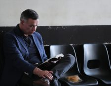 Juan de Dios Rodríguez, expresidente del IGSS durante el gobierno del Partido Patriota, implicado en casos de corrupción. (Foto Prensa Libre: Hemeroteca PL)