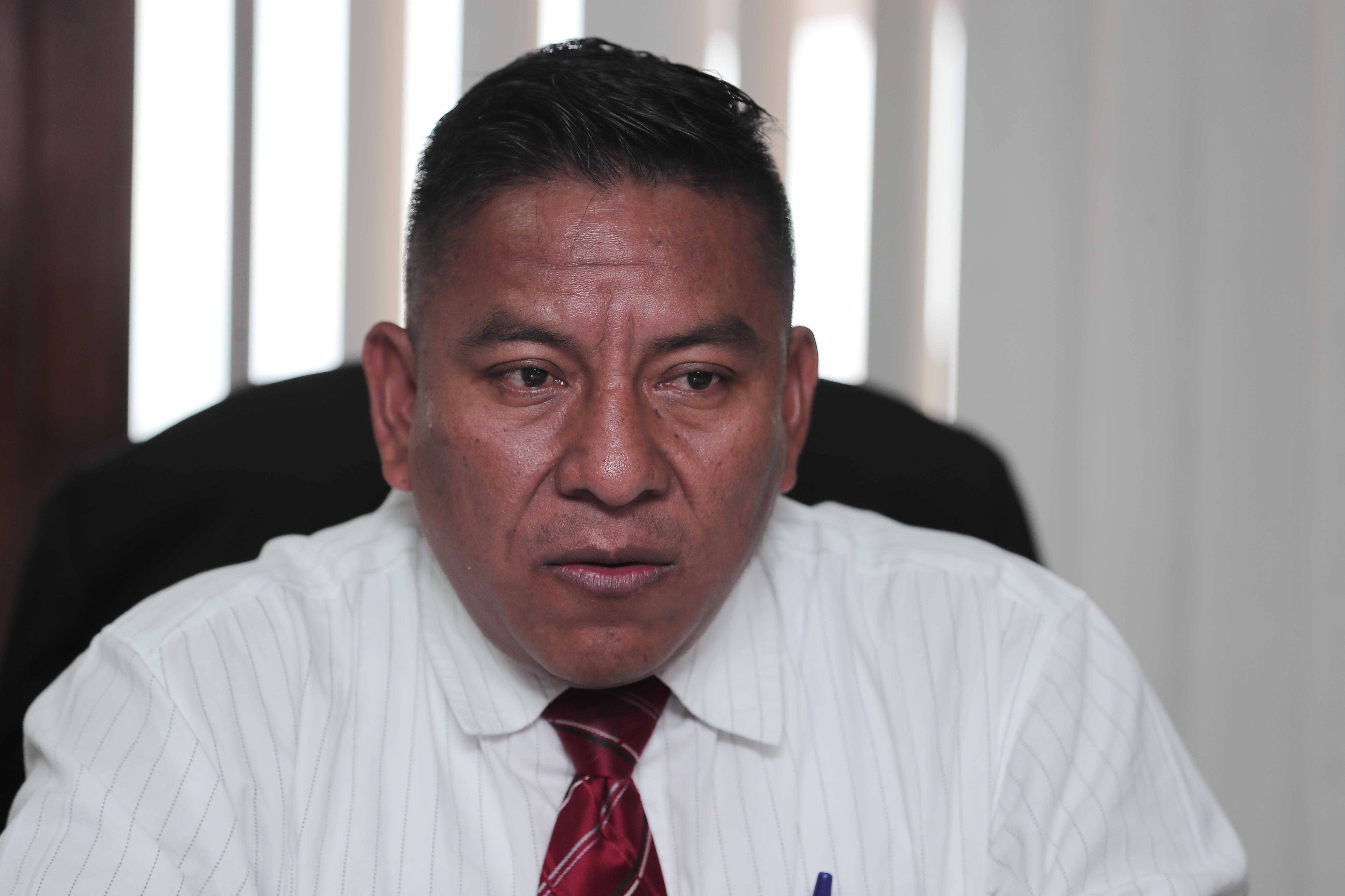 JUEZ PABLO XITUMUL. El Juez Pablo Xitumul accedi— a brindar declaraciones a Prensa Libre y Guatevisi—n sobre el altercado que tuvo con un inspector de la PNC donde se vio involucrada su familia.