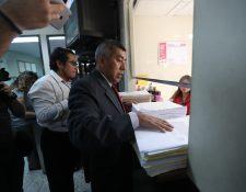 El fiscal Rafael Curruchice compareció a Tribunales el 2 de febrero pasado para pedir control jurisdiccional en investigaciones relacionadas con partidos políticos. (Foto Prensa Libre: Hemeroteca PL)