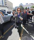 Sandra Torres acusa a Thelma Aldana, exjefa del MP, de estar detrás del caso para allanar el camino a la Presidencia. (Foto Prensa Libre: Hemeroteca PL)