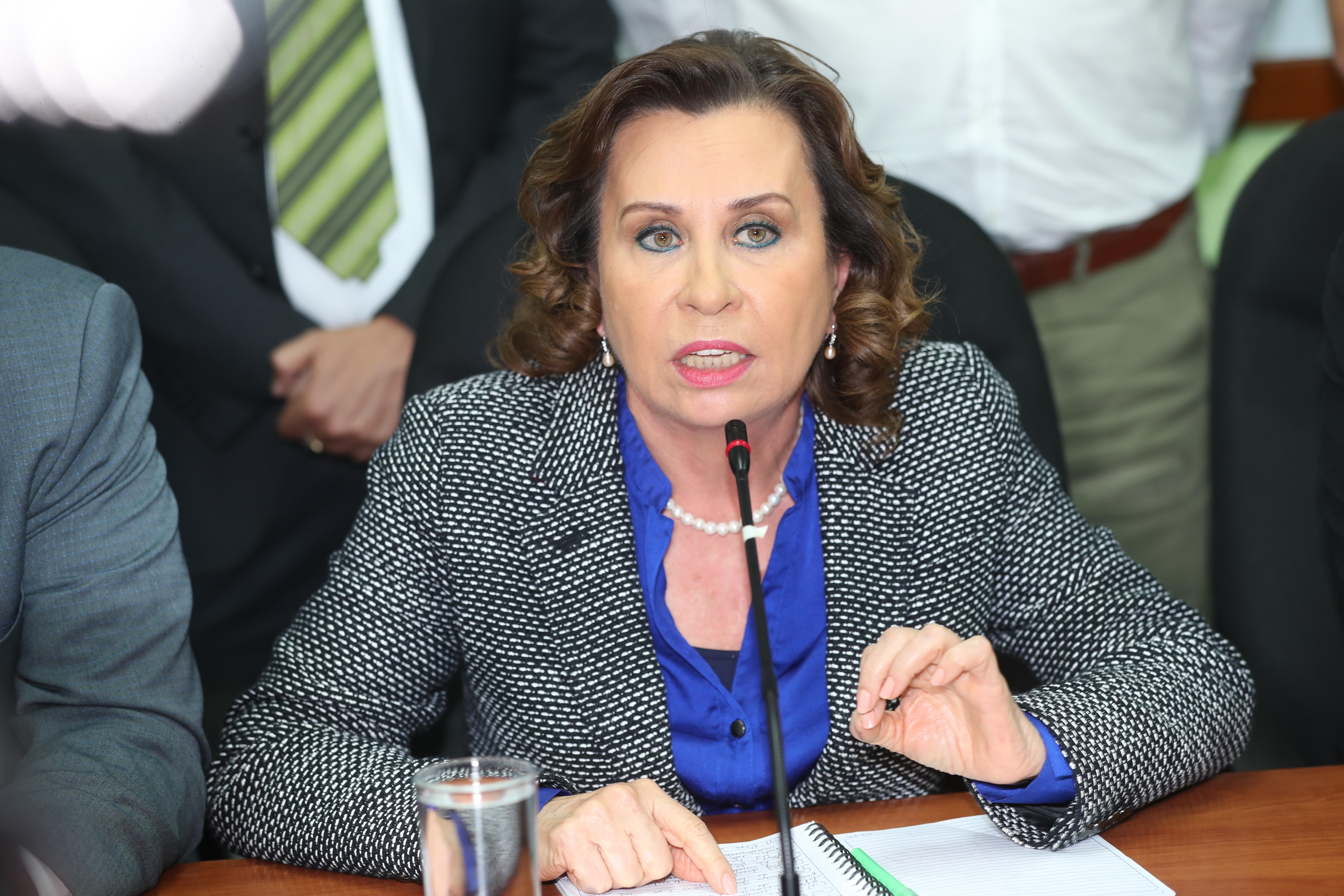 Al conocer sobre el caso en su contra, Sandra Torres lo atribuyó a un ataque de la precandidata Thelma Aldana, exfiscal General. (Foto Prensa Libre: Hemeroteca PL)