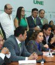Sandra Torres señala a Thelma Aldana de haber promovido la solicitud de levantamiento de inmunidad en su contra. (Foto Prensa Libre: Hemeroteca PL)