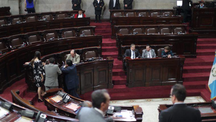 El Congreso celebrará este miércoles una sesión plenaria donde se podría discutir en segundo debate las reformas a la Ley Nacional de Reconciliación. (Foto Prensa Libre: Érick Ávila)