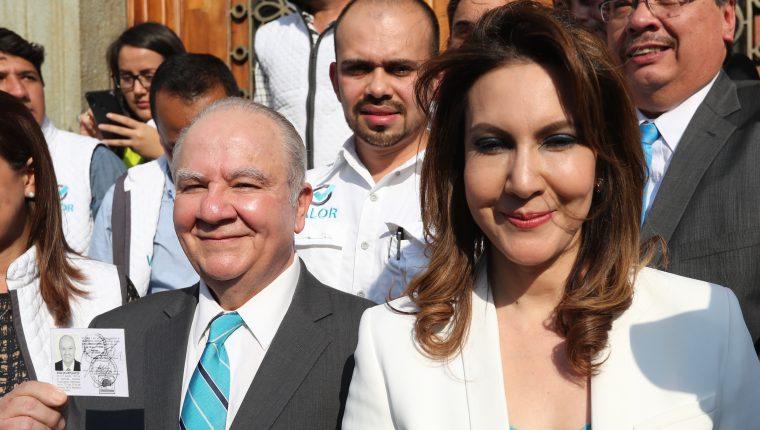 La Corte de Constitucionalidad revocó el amparo provisional por el cual fue inscrita Zury Ríos como candidata a la presidencia. (foto Prensa Libre: Hemeroteca PL)