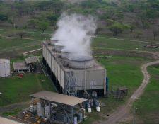 La planta generadora de energía con carbón San José, se ubica en Escuintla. Su contrato se vence en febrero del 2020. (Foto, Prensa Libre: Hemeroteca PL).