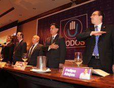 El Comité Ejecutivo Nacional del partido Todos en 2015 fue presidido por el diputado, Felipe Alejos, como secretario general, y con todo con el apoyo en campaña del expresidente Alfonso Portillo. (Foto: Hemeroteca PL)