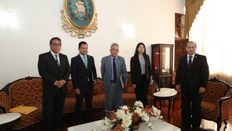 Jueces de casos de alto impacto pidieron el cambio de Motta. (Foto Prensa Libre: Hemeroteca PL)