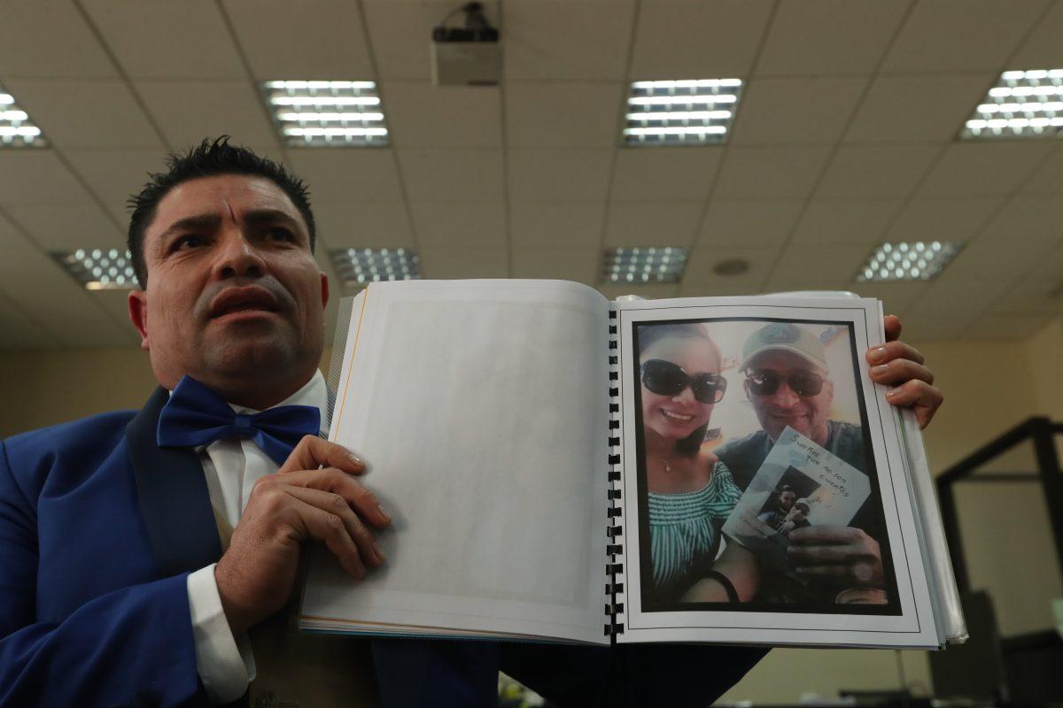 Renuncia funcionario de la Cicig que tuvo un romance con la viuda de Byron Lima