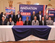 Empresarios del Reino Unido exploran oportunidades de negocios en Guatemala en sectores como infraestructura, construcción y agua y saneamiento. (Foto Prensa Libre: Juan Diego González)