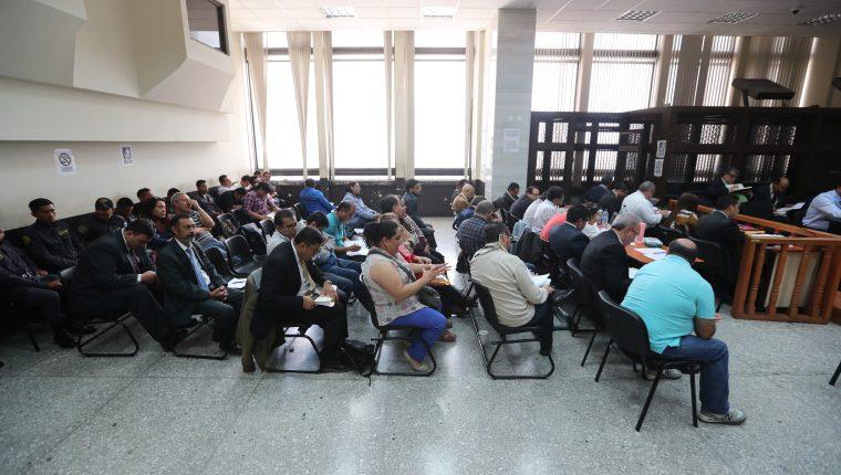 Un total de 13 procesados en el caso La Línea han sido favorecidos con arresto domiciliario en los últimos ocho meses. (Foto Prensa Libre: Hemeroteca PL)