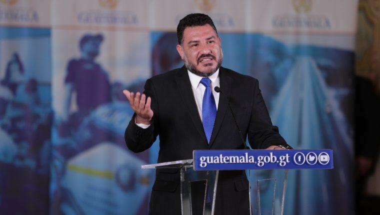 Ministro de Ambiente, Alfonso Alonzo. (Foto Prensa Libre: Hemeroteca PL)
