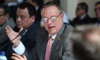 Ministro de Salud Carlos Soto dio a conocer su plan de trabajo a la Comisi—n de Salud y Asistencia Social del Congreso de la Repœblica.  foto por Carlos Hern‡ndez Ovalle 05/02/2019