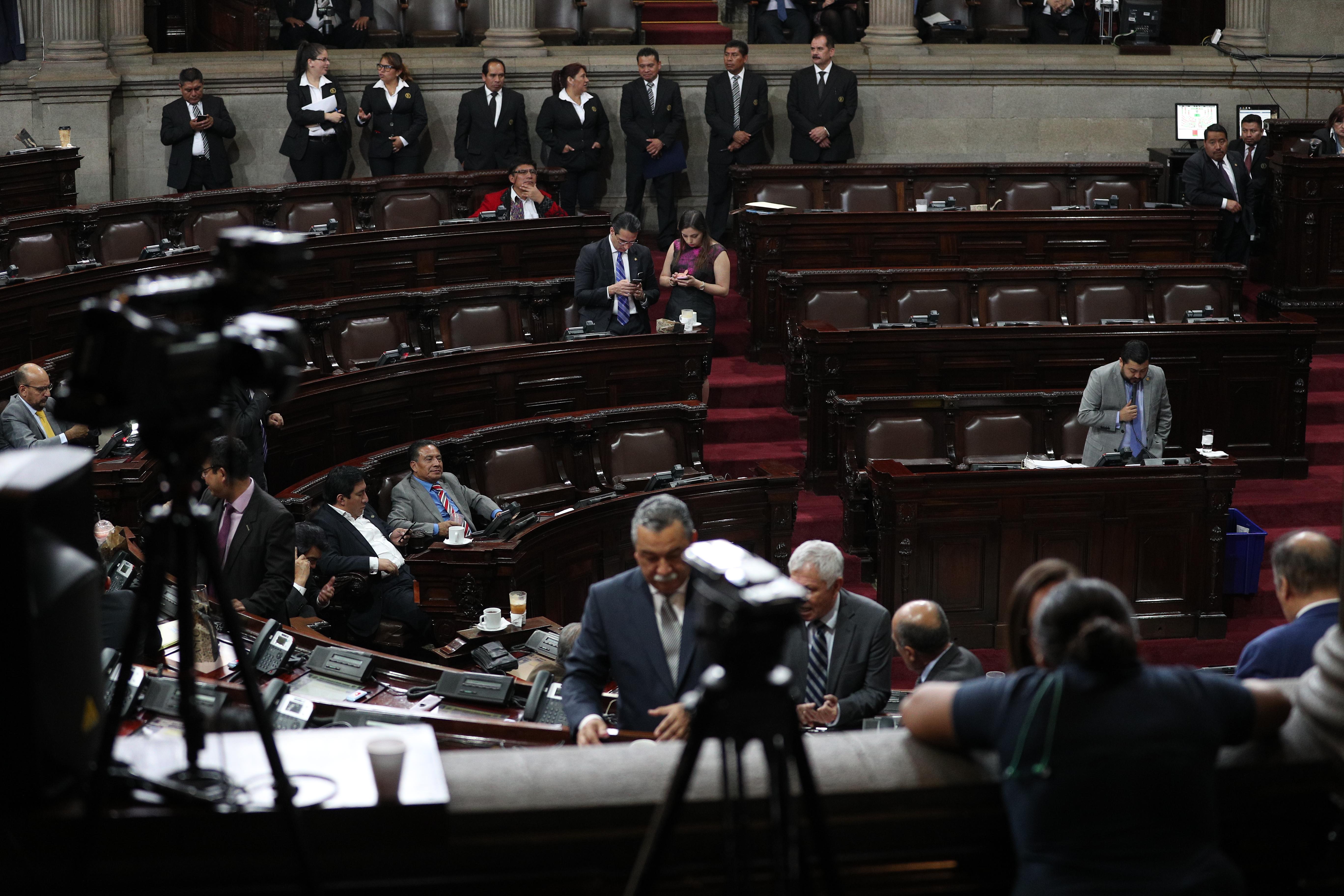 DŽcimo tercera Sesi—n Plenaria del Congreso de la Repœblica, la cual se suspendi— por falta de quorum.  foto por Carlos Hern‡ndez Ovalle 19/02/2019