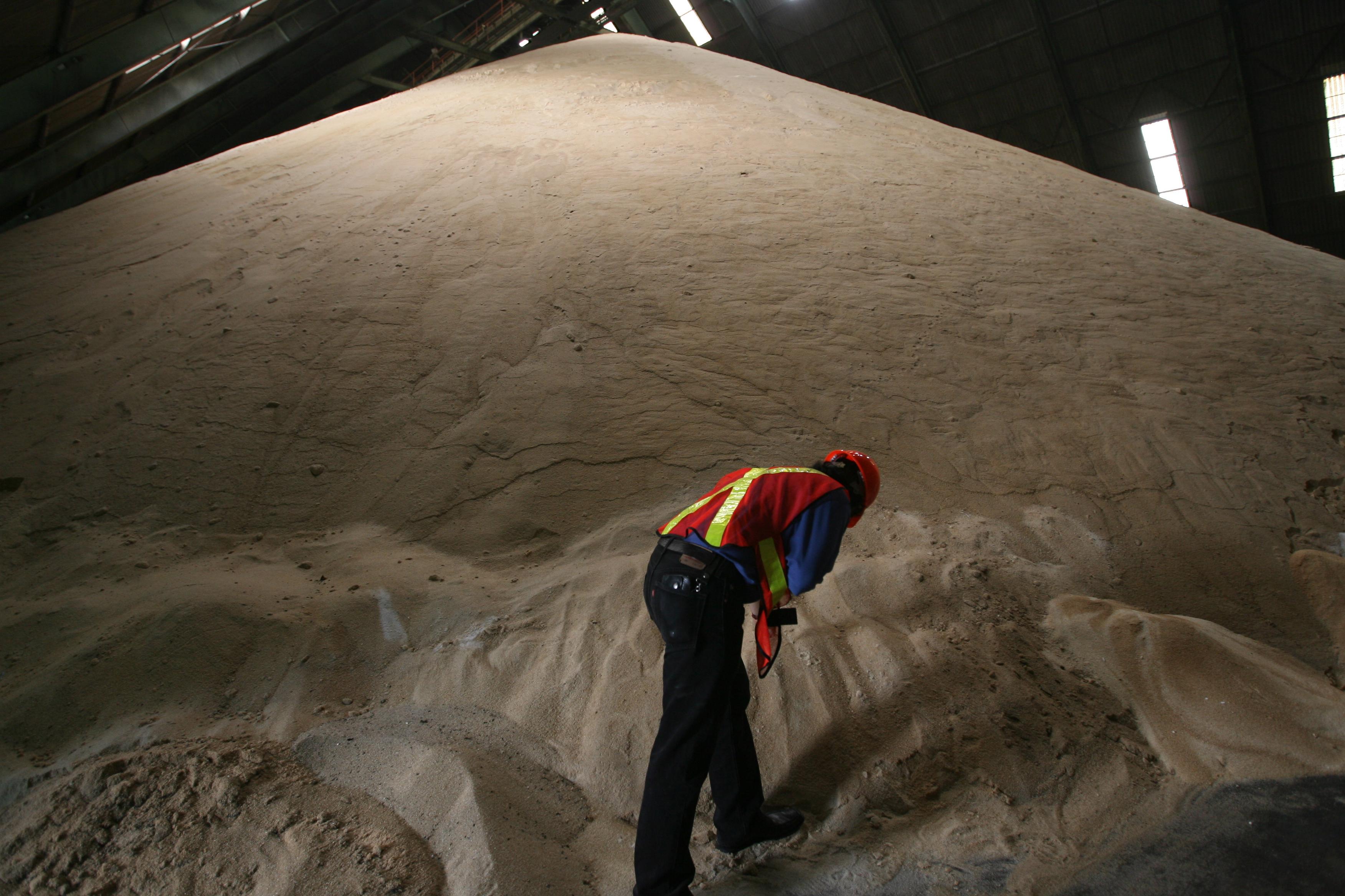 El principal producto que Guatemala despacha a Taiwán es azúcar. (Foto Prensa Libre: Hemeroteca)