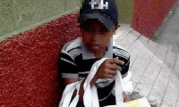 El menor ha sido en varios municipios de Chiquimula, donde afirma que es víctima de asalto. (Foto Prensa Libre: Mario Morales).