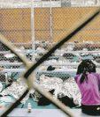 Las condiciones en las que fue encontrada la guatemalteca y su hija recién nacida fueron deplorables, según activistas que revelaron el caso. (Foto Prensa Libre: Hemeroteca PL)